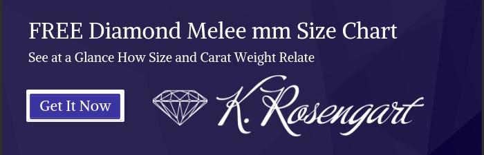 FREE Diamond Melee mm Size Chart | K. Rosengart